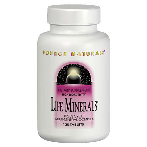Life Minerals Multi Mineral Complex 120 tabs from Source Naturals