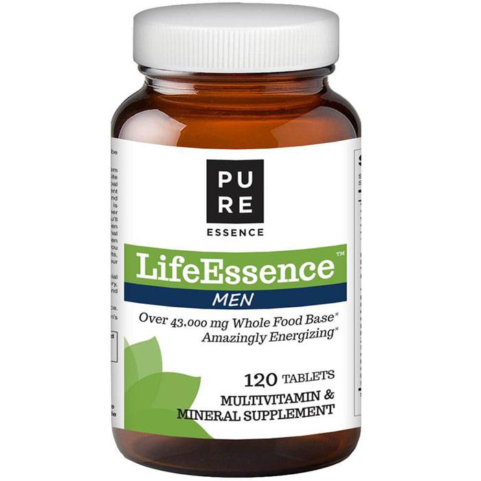 LifeEssence Mens Formula (Life Essence), 120 Tablets, Pure Essence Labs