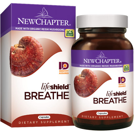 Lifeshield Breathe, 60 Vcaps, New Chapter