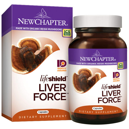 LifeShield Liver Force, 60 Capsules, New Chapter