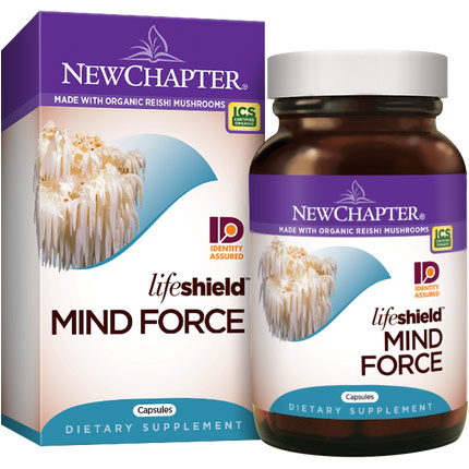Lifeshield Mind Force, 60 Vcaps, New Chapter