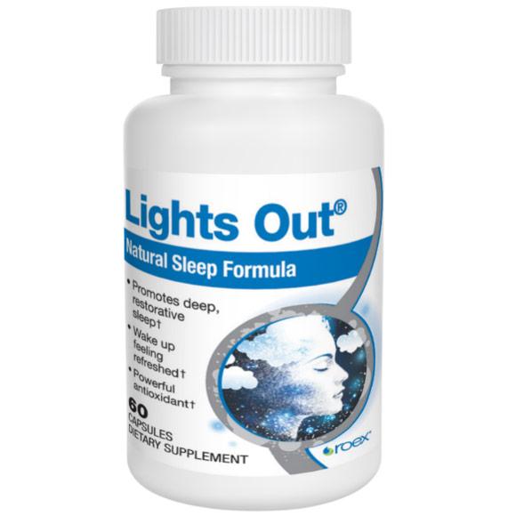Lights Out, Sleep Formula, 60 Tablets, Roex