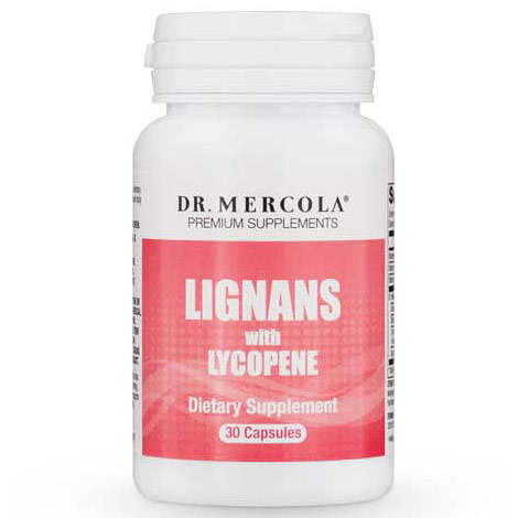 Lignans with Lycopene, 30 Capsules, Dr. Mercola