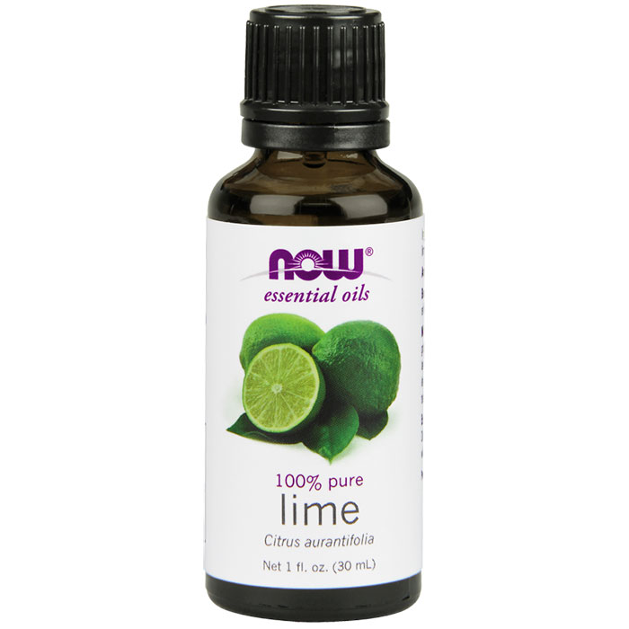 Lime Oil, 1 oz, NOW Foods