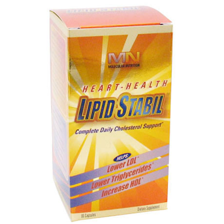 Lipid Stabil (Cholesterol Support), 90 Capsules, Molecular Nutrition