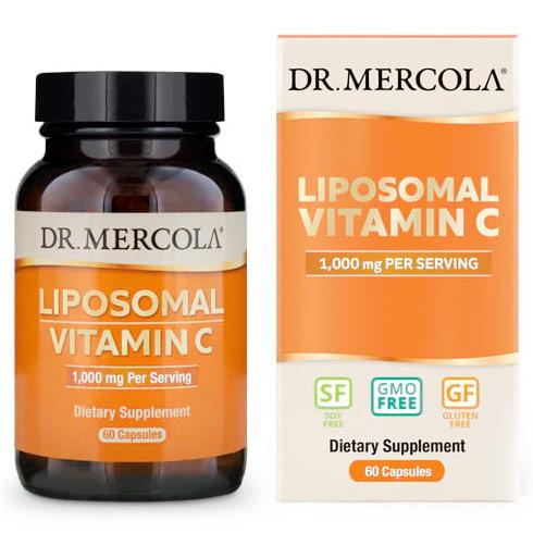 Liposomal Vitamin C 500 mg, 60 Licaps Capsules, Dr. Mercola