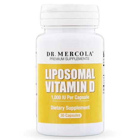 Liposomal Vitamin D 1000 IU, 30 Capsules, Dr. Mercola