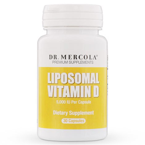 Liposomal Vitamin D 5000 IU, 30 Capsules, Dr. Mercola
