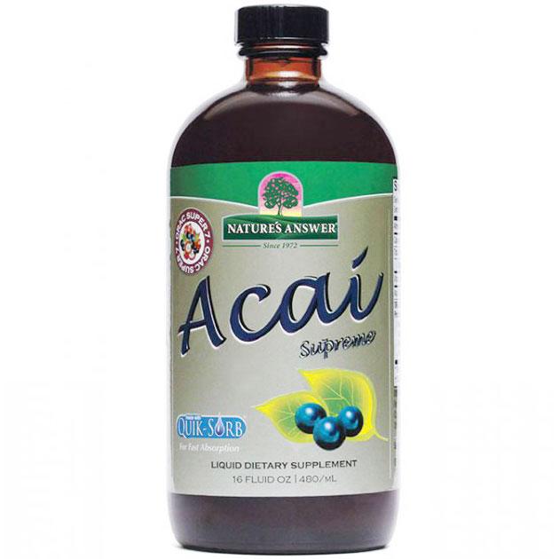 Acai Supreme Liquid with ORAC Super 7, 16 oz, Natures Answer