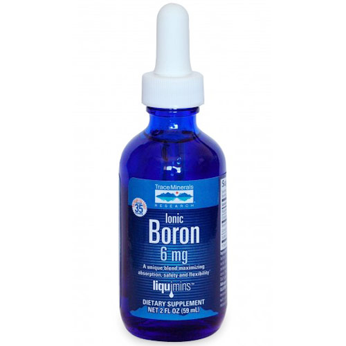 Ionic Boron Liquid, 6 mg, 2 oz, Trace Minerals Research