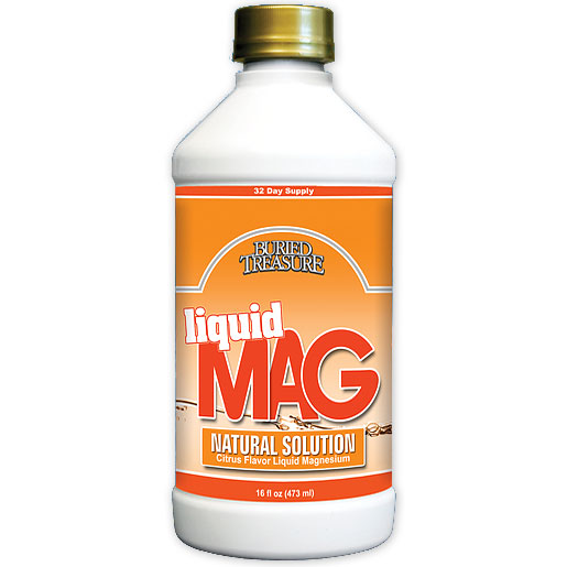 Liquid Magnesium (Liquid Mag), 16 oz, Buried Treasure Liquid Nutrients
