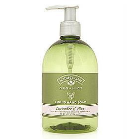 Organic Liquid Soap Lavender & Aloe 12 fl oz from Natures Gate
