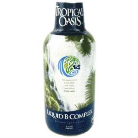 Liquid Vitamin B-Complex with Energy Herbs, 16 oz, Tropical Oasis
