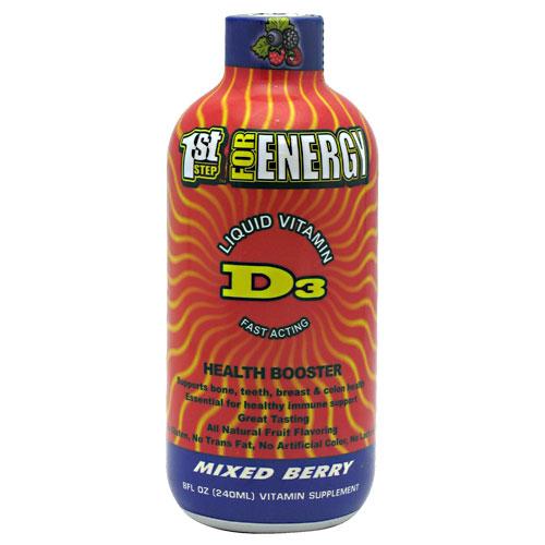 HPF Vitamin D3 Liquid (Great Tasting Vitamin D), 8 oz, High Performance Fitness