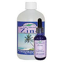 Liquid Zinc, 18 oz, Eidon Ionic Minerals