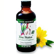 Liquid Zinc Status 120 ml from Ethical Nutrients (Vitamins Supplements - Zinc)
