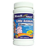 Little Animals Chewables, 60 Tablets, Mason Natural