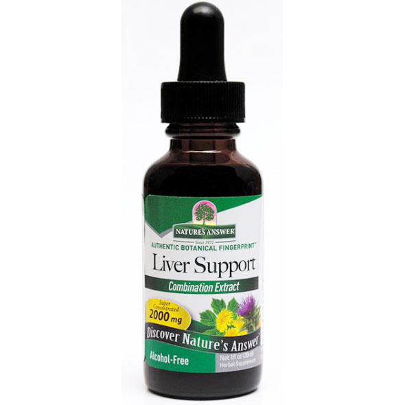 Liver Support (Liver Cleanse) Alcohol Free 1 oz liquid from Nature's Answer