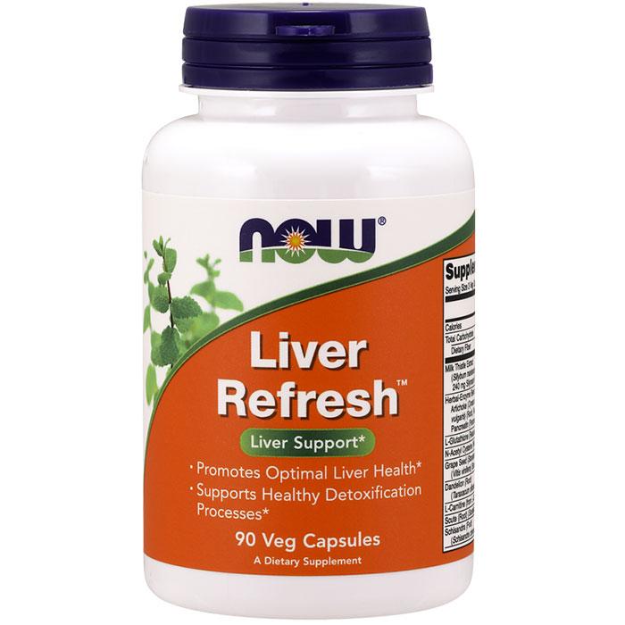 Liver Refresh (formerly Liver Detoxifier & Regenerator), 90 Veg Capsules, NOW Foods