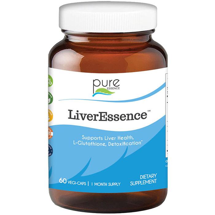 LiverEssence (Liver Essence), 60 Vegetarian Capsules, Pure Essence Labs