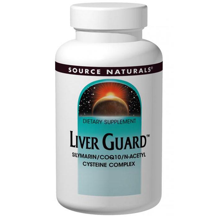 Liver Guard, Silymarin / CoQ10 / NAC Complex, 30 Tablets, Source Naturals