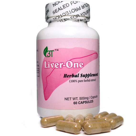 Liver-One, Liver Tonic Herb Formula, 60 Capsules, 3T HerbTech