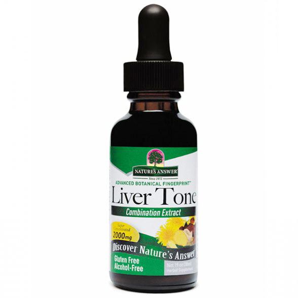 Liver Tone Alcohol Free 1 oz liquid from Nature's Answer