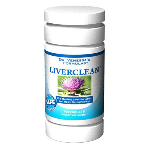 LiverClean, 100 Tablets, Dr. Venessa's Formulas - CLICK HERE TO LEARN MORE