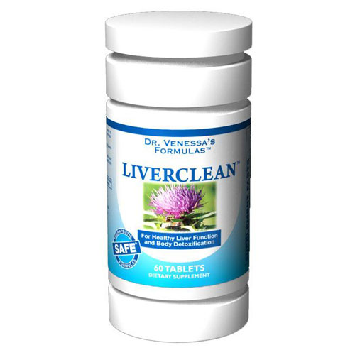 LiverClean, 60 Tablets, Dr. Venessa's Formulas - CLICK HERE TO LEARN MORE