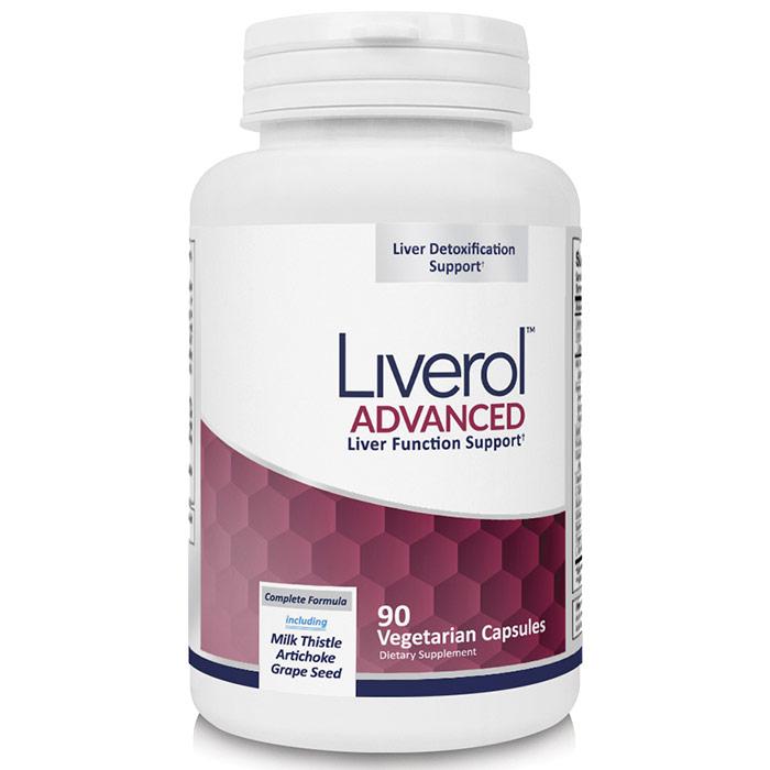 Liverol, Advanced Liver Function Support, 90 Vegetarian Capsules, Newton-Everett