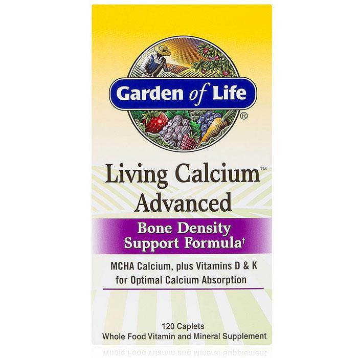 Living Calcium Advanced, 120 Caplets, Garden of Life