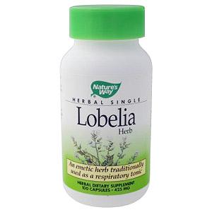 Lobelia Herb 100 caps from Nature's Way