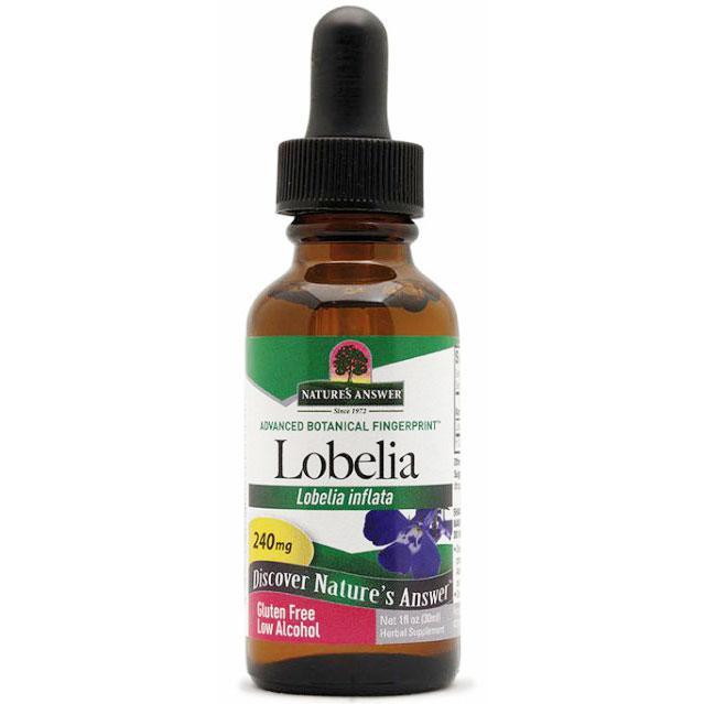 Lobelia Herb Extract (Lobelia Inflata) Liquid 1 oz from Natures Answer