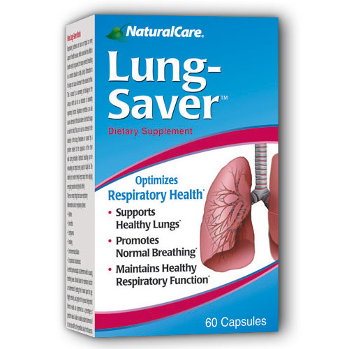 Lung Saver (For Respiratory Health) 60 caps from NaturalCare