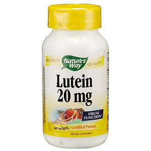 Lutein 20mg 60 softgels from Natures Way