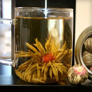 Lychee Nut Jasmine Flowering Tea Organic, 1 lb (Approx. 78 Buds), StarWest Botanicals