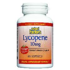 Lycopene 10mg 60 Softgels, Natural Factors