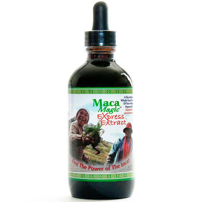 Liquid Maca Express Extract, Value Size, 4 oz, Maca Magic