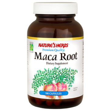 Maca Root 100 caps from Natures Herbs