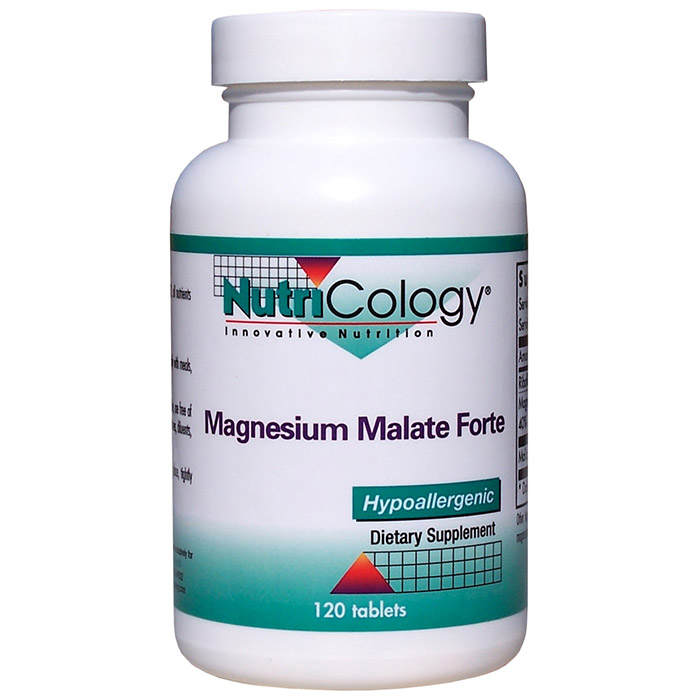Magnesium Malate Forte 120 tabs from NutriCology
