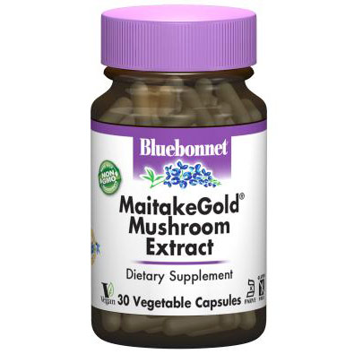 MaitakeGold Mushroom Extract, 60 Vegetable Capsules, Bluebonnet Nutrition