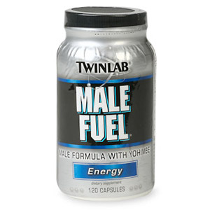 Male Fuel With Yohimbe 120 caps from Twinlab