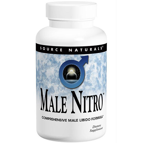 Male Nitro, Comprehensive Male Libido Formula, 60 Tablets, Source Naturals