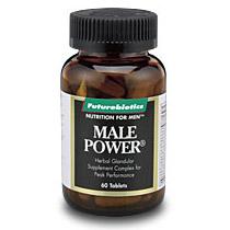 Male Power, Energy & Endurance, 60 tabs, Futurebiotics