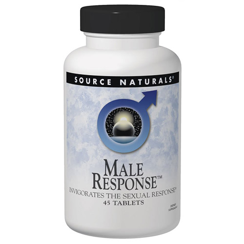 Male Response, Invigorates Sexual Response, 90 Tablets, Source Naturals