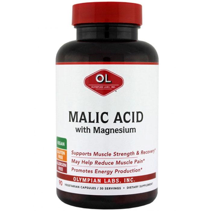 Malic Acid, 90 Capsules, Olympian Labs