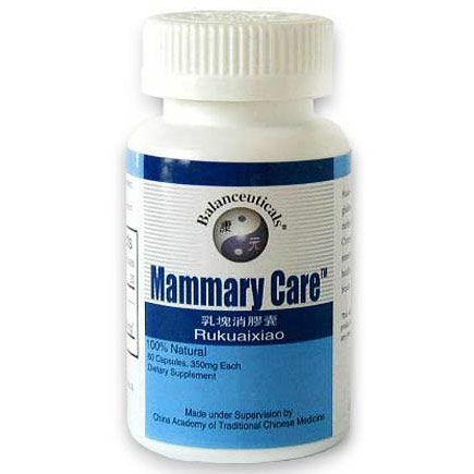 Mammary Care, Herbal Breast Formula, 60 Capsules, Balanceuticals