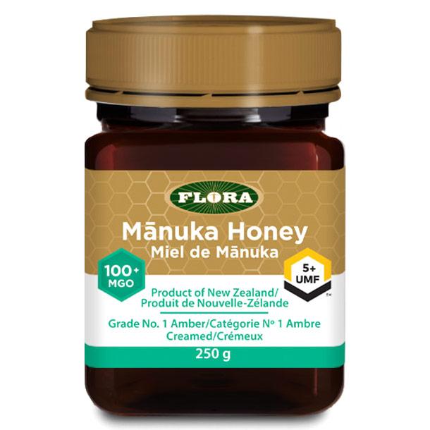 Manuka Honey MGO 100+/UMF 5+, 8.8 oz, Flora Health