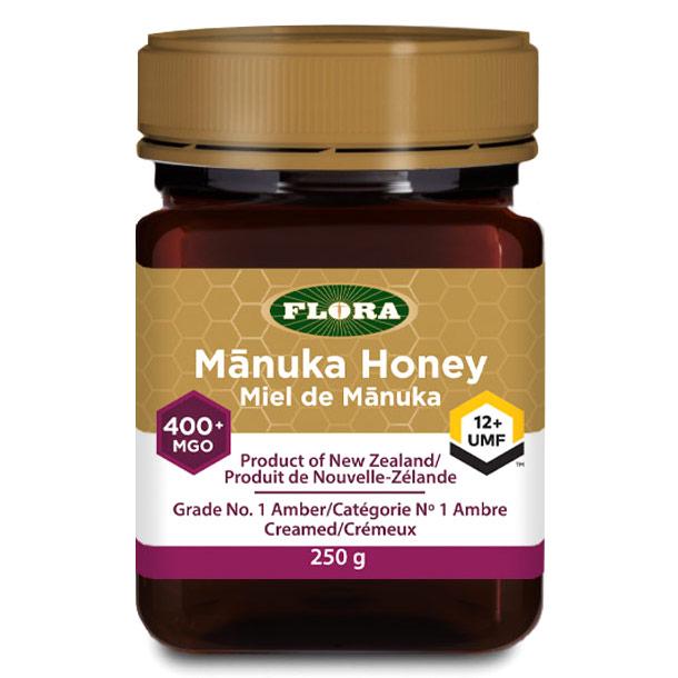 Manuka Honey MGO 400+/UMF 12+, 8.8 oz, Flora Health