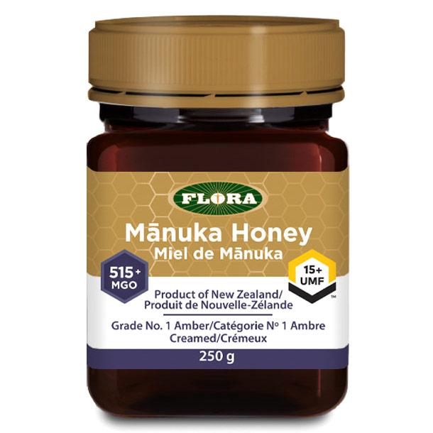 Manuka Honey MGO 515+/UMF 15+, 8.8 oz, Flora Health